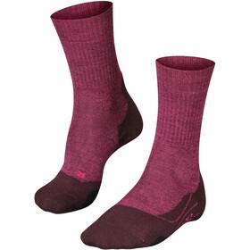 Falke TK2 Wool Vandresokker Damer, violet